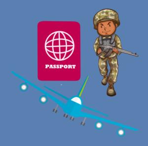 Выезд за границу военным