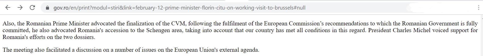 Когда Румыния вступит в Шенген?