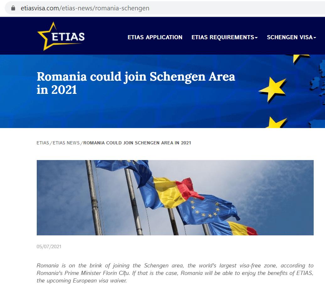 присоединение Румынии к Шенгенскому соглашению – почти решенный вопрос